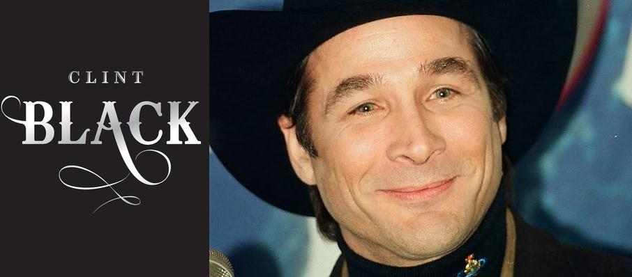 Clint Black at Lyell B Clay Concert Theatre