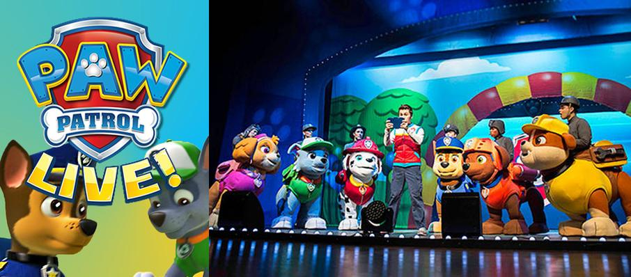 Paw Patrol at Lyell B Clay Concert Theatre
