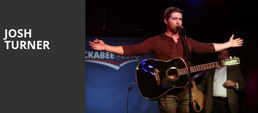 Josh Turner, Metropolitan Theatre, Morgantown
