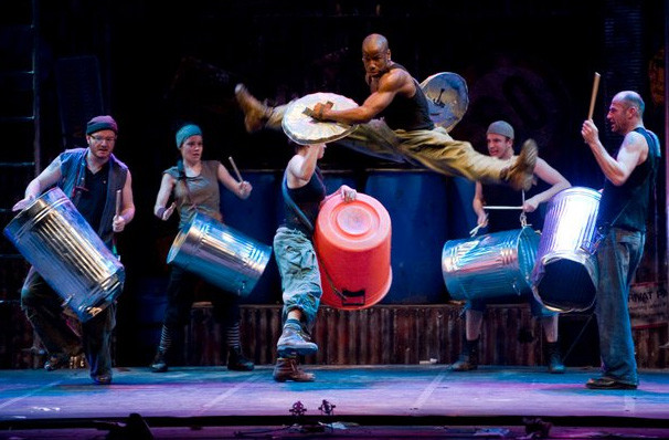 Stomp, Lyell B Clay Concert Theatre, Morgantown